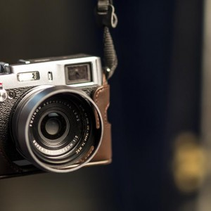 Retro look for this high tech camera - the Fuji Film X100s