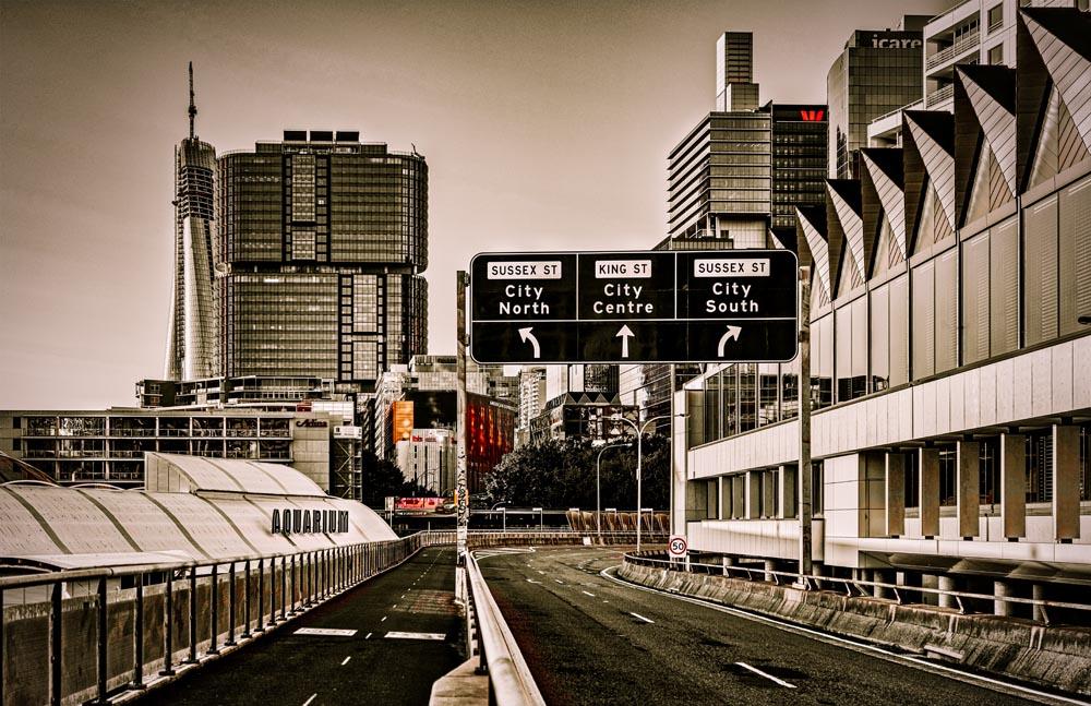 Sydney CBD in Lockdown #76