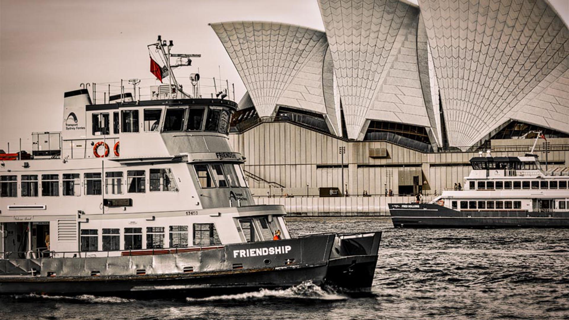 Sydney CBD in Lockdown #77